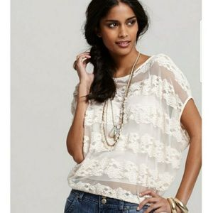 Free People country fair blouse